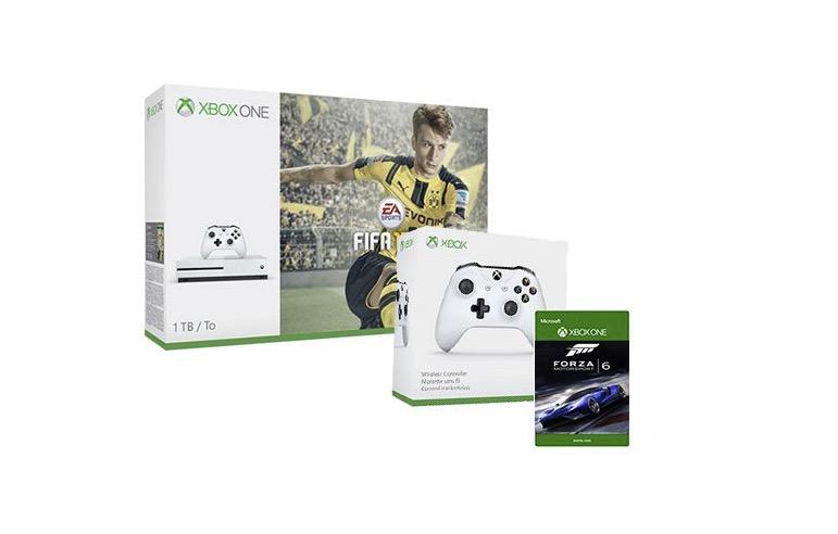 Xbox One S Bundle FIFA controller e Forza Motorsport