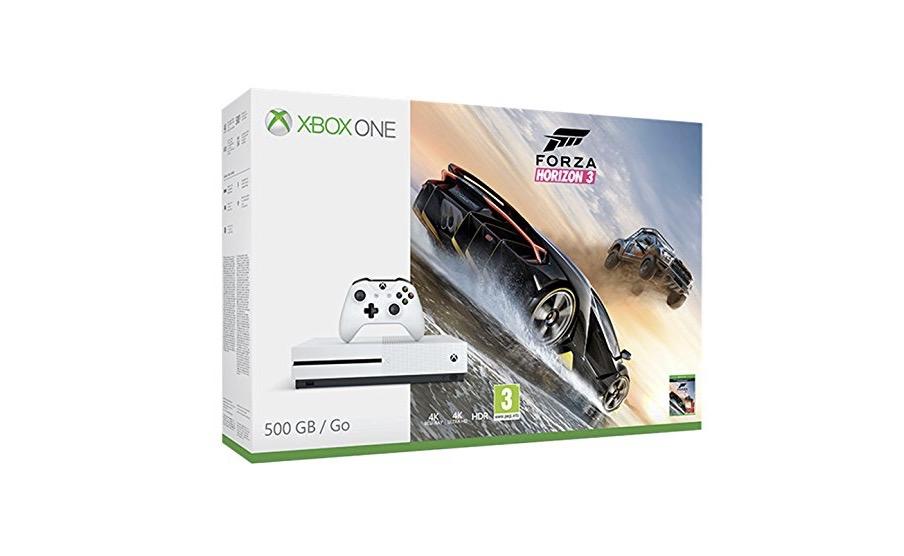 Xbox One S e Forza Horizon 3