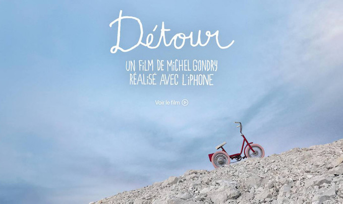 Detour, il film di Gondry girato tutto con iPhone