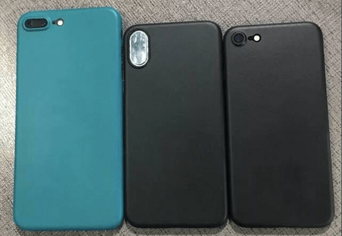 iPhone 8 vs iPhone 7s, 7s Plus e Samsung Galaxy S8: le dimensioni