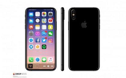 iPhone 8 con fotocamera doppia verticale: la conferma dalla cover