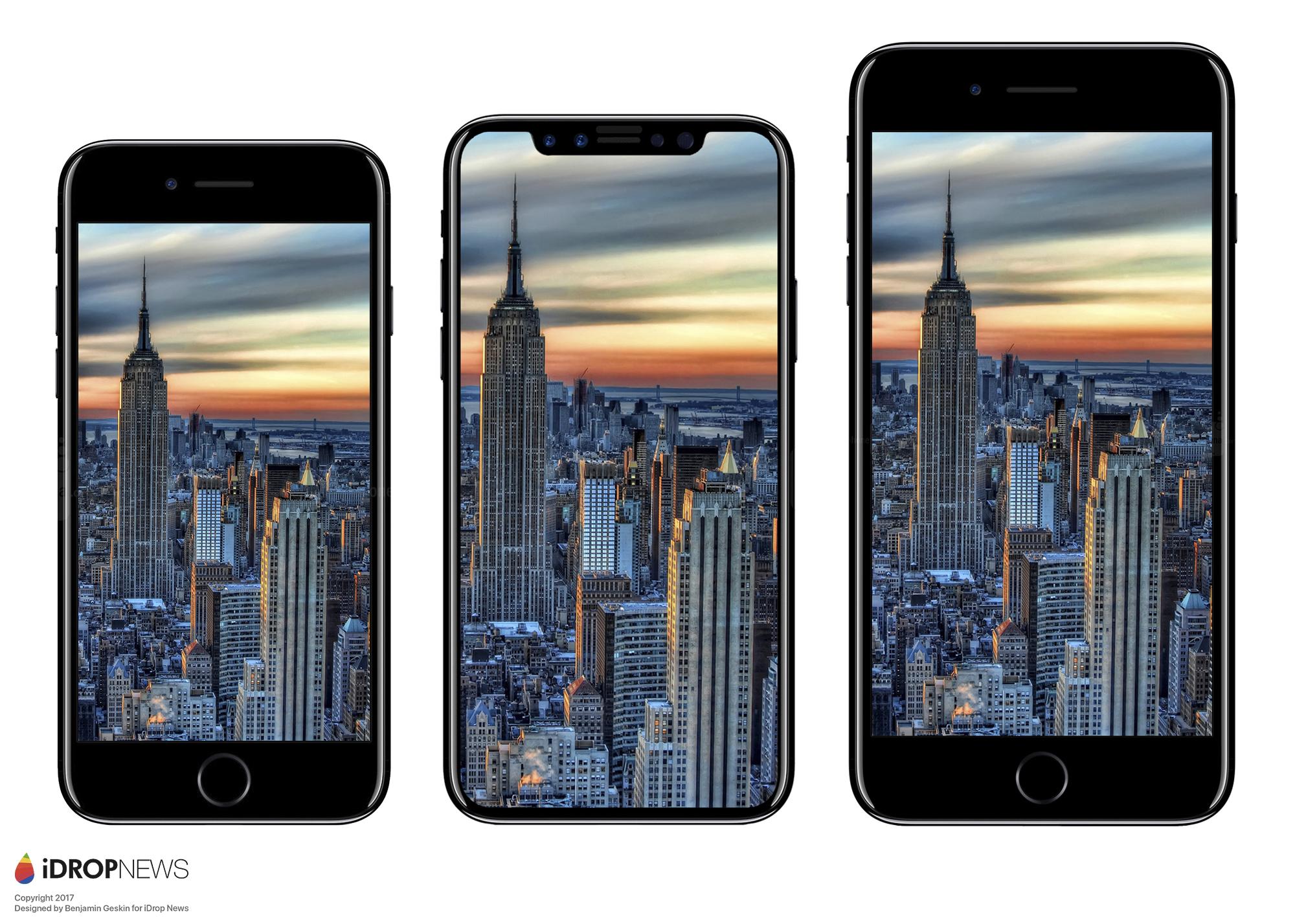 iPhone 8 paragone dimensioni