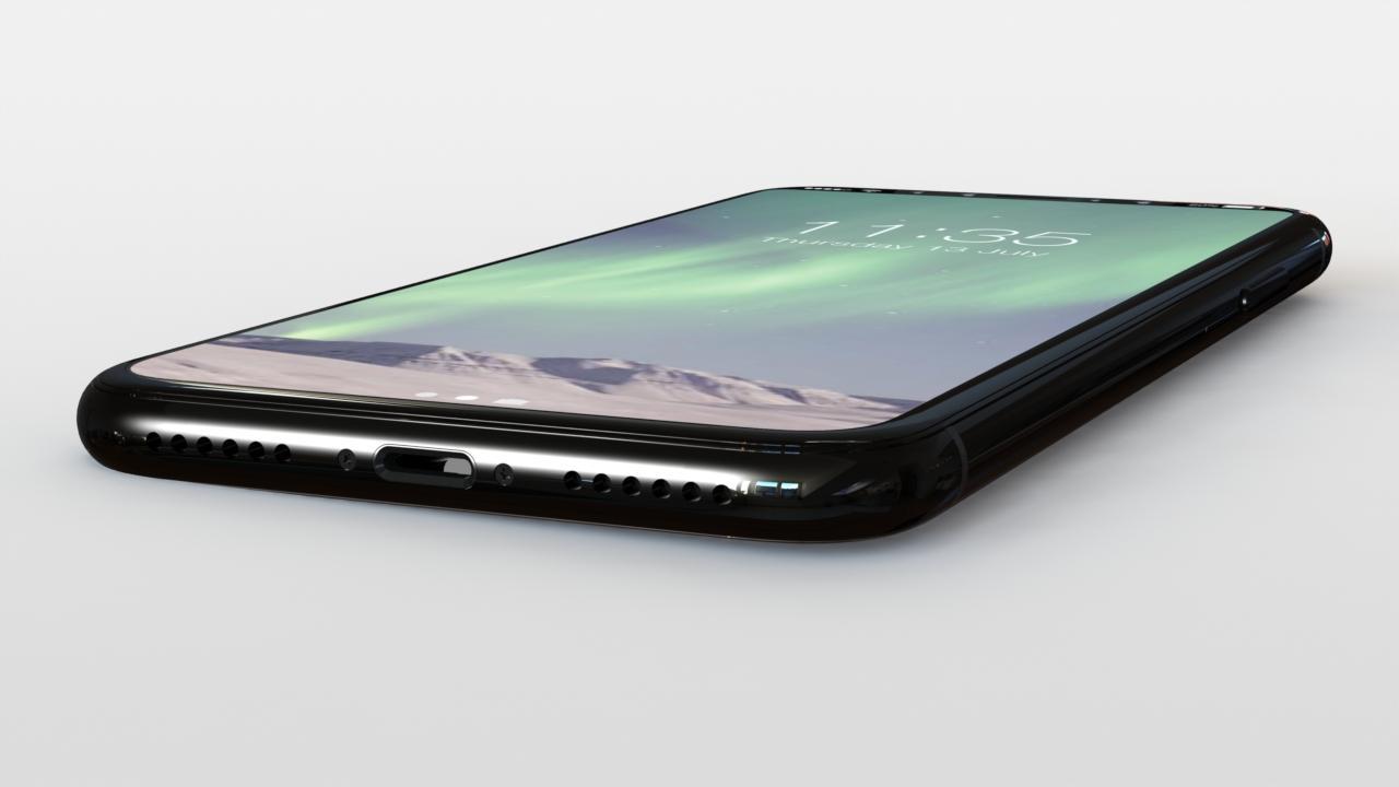 iPhone 8 render fondo