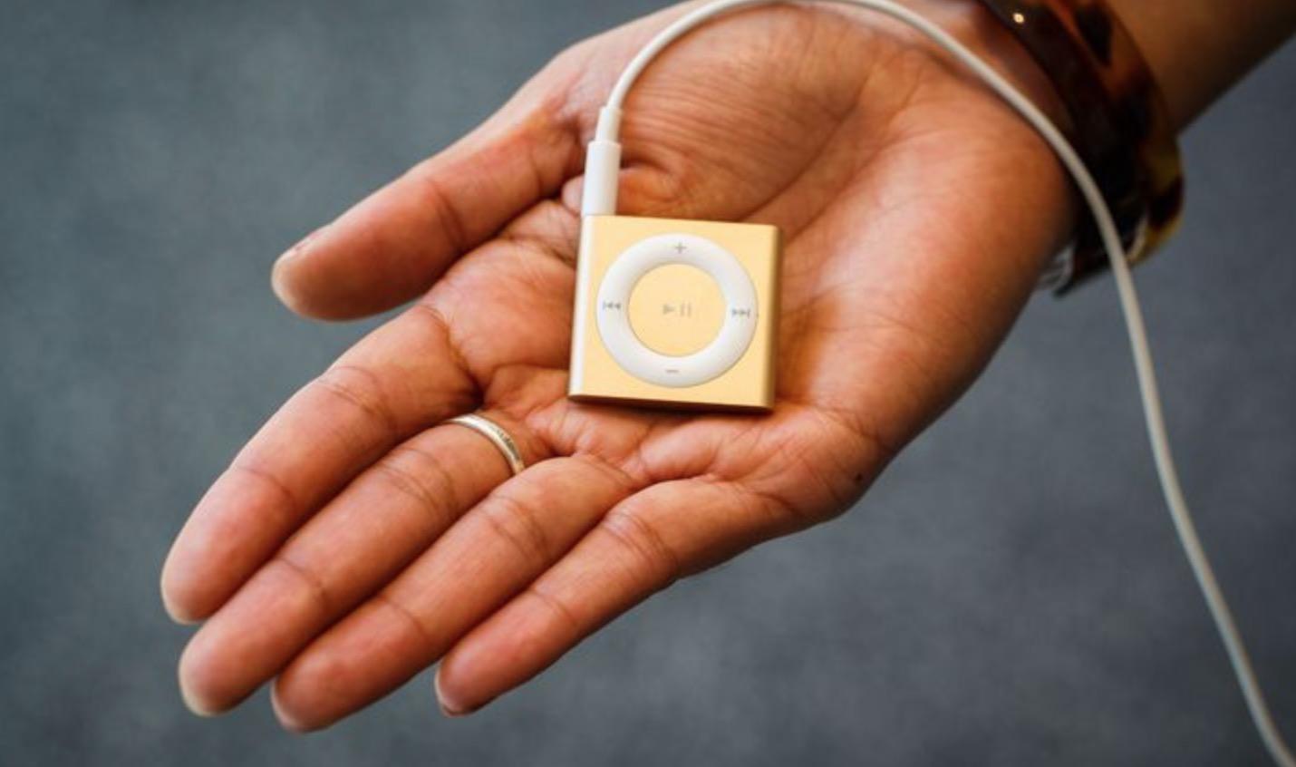 iPod shuffle addio