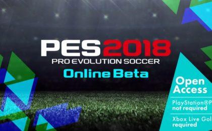PES 2018: disponibile la beta online su PS4 e Xbox One