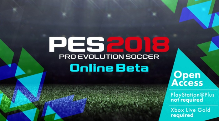 PES 2018: disponibile la beta online su PS4 e Xbox One