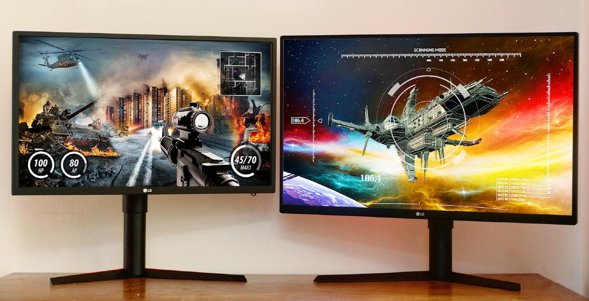 LG presenterà all'IFA 2017 due monitor da gaming