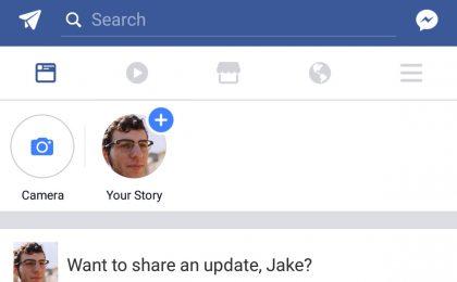 Facebook inserisce le Storie su desktop