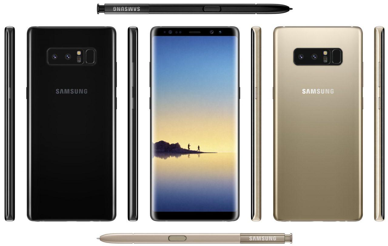 Galaxy Note 8 processore