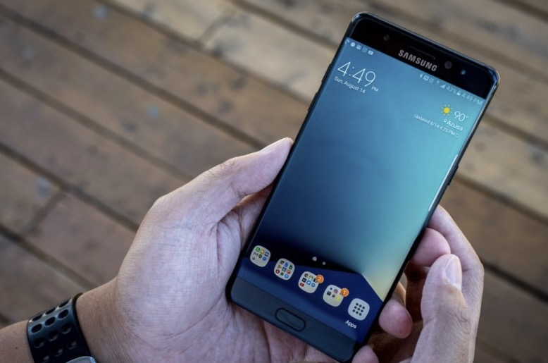Galaxy Note 8 sistema operativo
