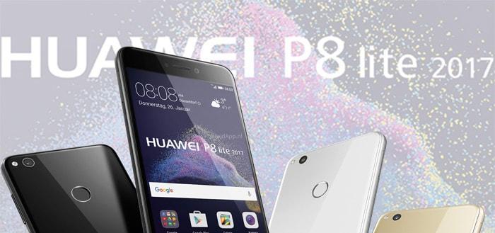 Huawei P8 Lite 2017 headers