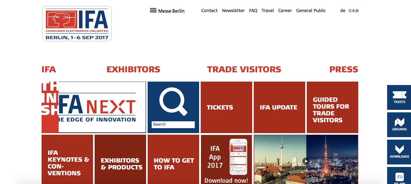 IFA 2017: biglietti, date e orari della fiera dell'elettronica