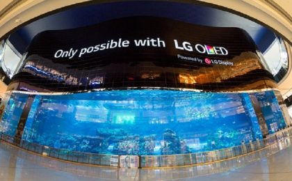 LG presenta il più grande monitor del mondo