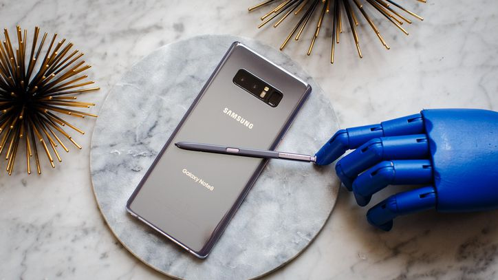 S Pen di Galaxy Note 8