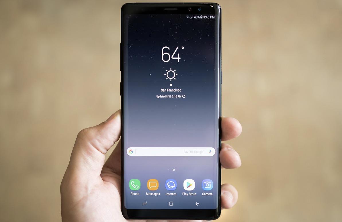 Samsung Galaxy Note 8 prezzo