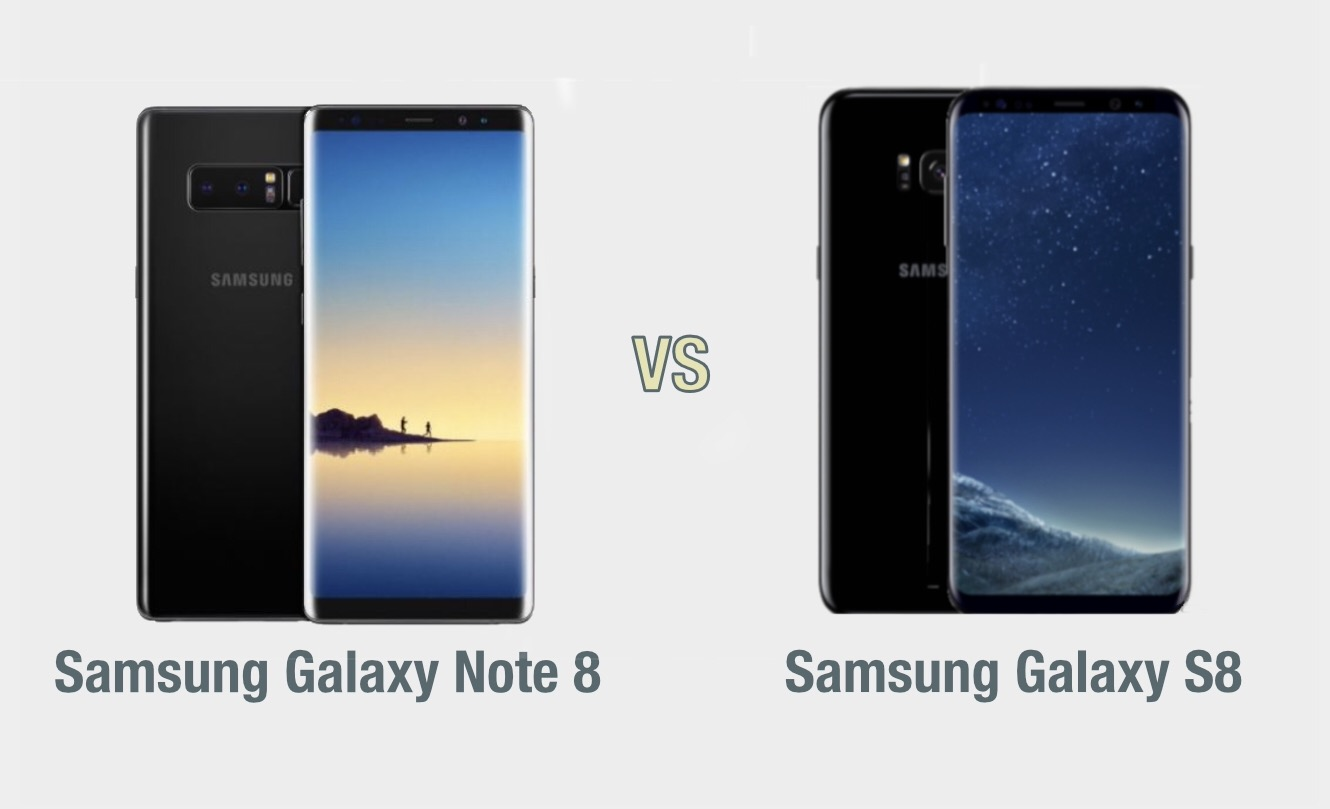 Samsung Galaxy Note 8 vs Galaxy S8: il confronto