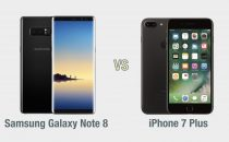 Samsung Galaxy Note 8 vs iPhone 7 Plus: il confronto