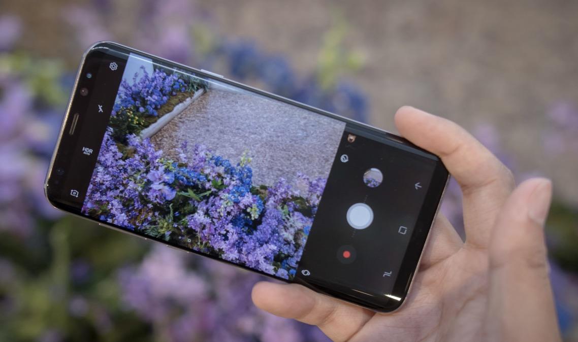 Samsung Galaxy S8 Plus schermo