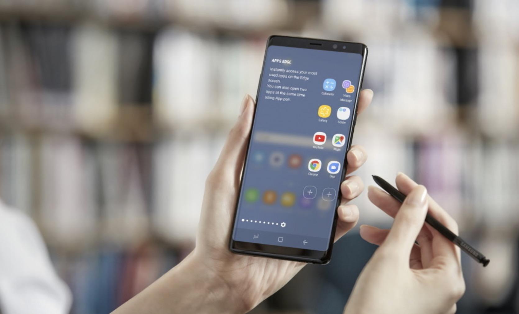 Schermo Galaxy Note 8