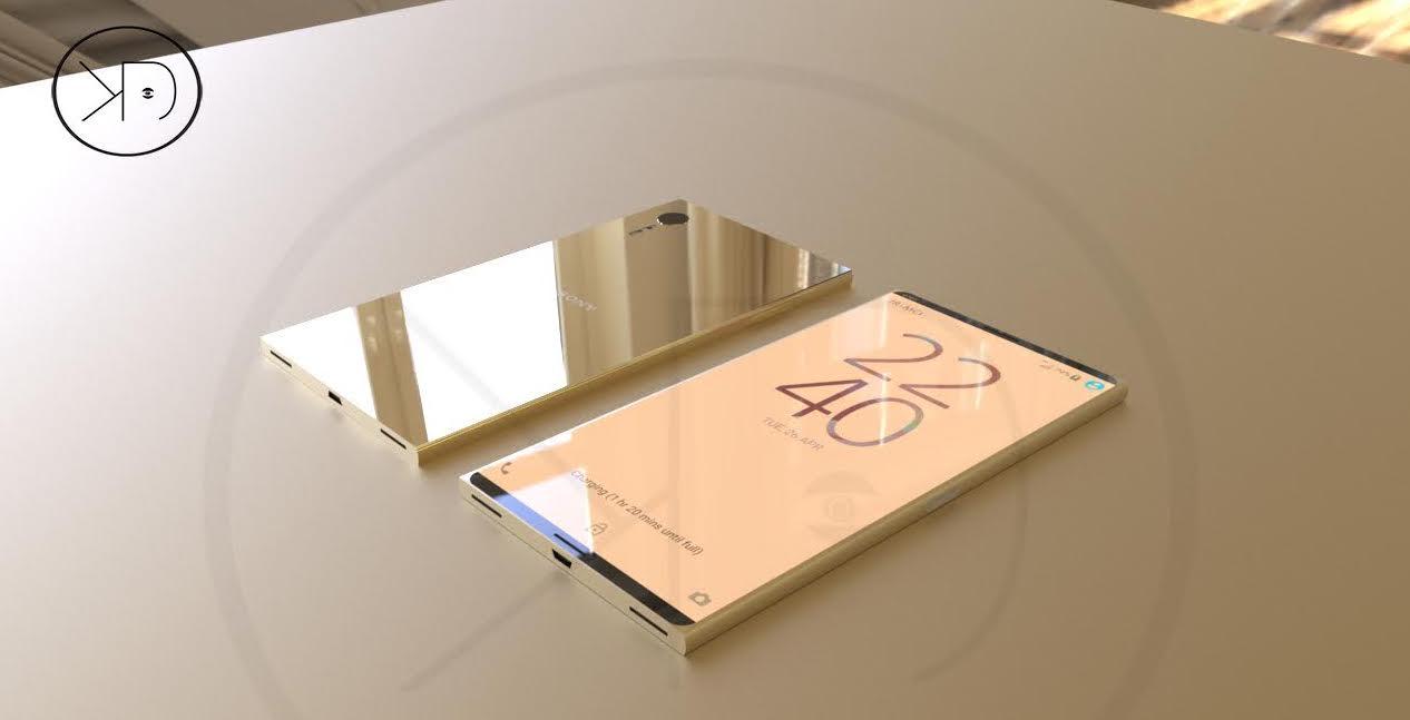 Sony Xperia XZ1 concept design