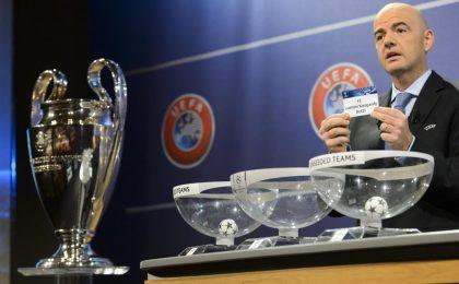 Sorteggi gironi Champions League 2017-2018: segui la diretta streaming