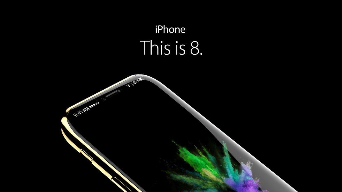 iPhone 8 render concept
