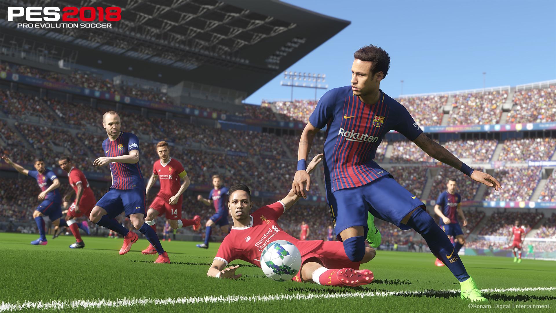 PES 2018: Konami annuncia la data della demo per PS4 e Xbox One
