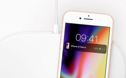 iPhone 8 come si ricarica senza fili il nuovo smartphone