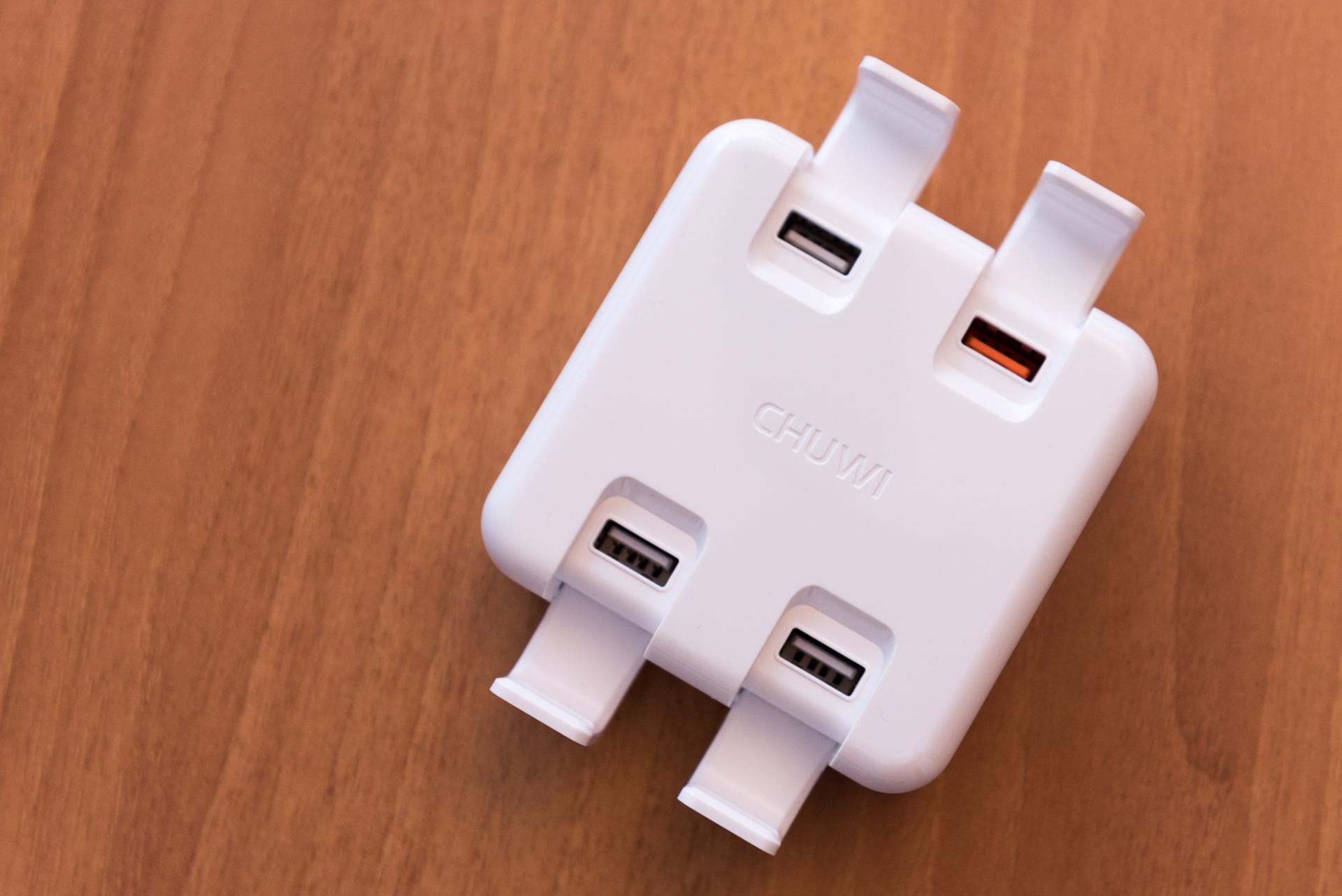 Chuwi Hi-Dock: recensione caricabatterie stand con 4 porte USB