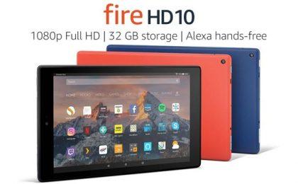 Amazon Fire HD 10: prezzo e scheda tecnica ufficiali
