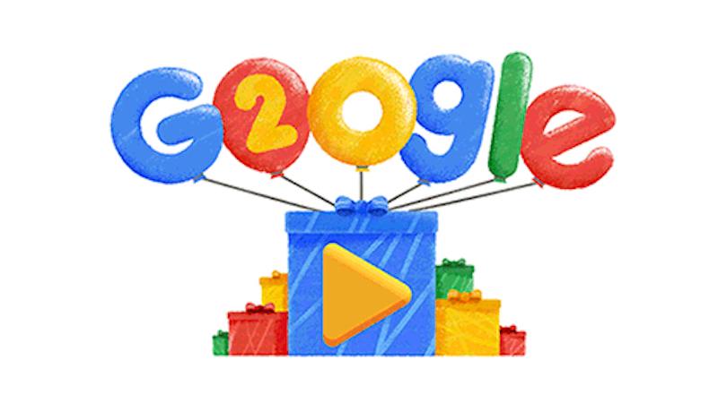 Google compleanno: i 20 anni del gigante del web, la storia