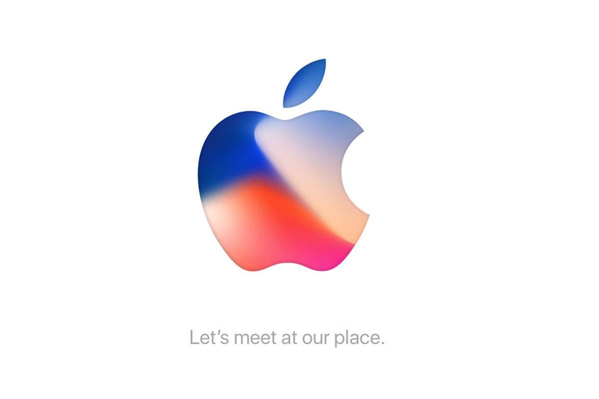 Invito evento Apple 12 settembre iPhone 8 iPhone 7s iPhone X Apple TV 4K