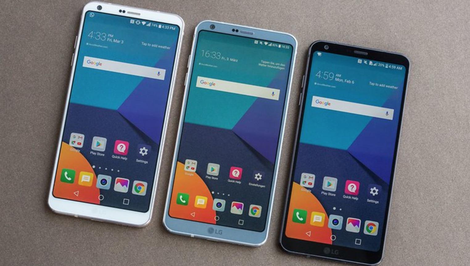 LG G6 schermo grandi dimensioni