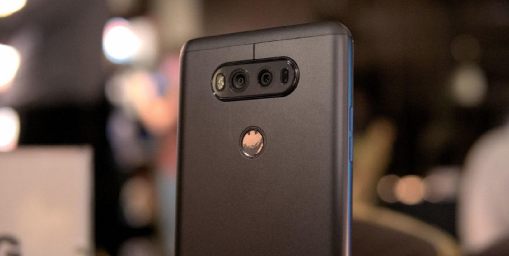 LG V30 fotocamera posteriore