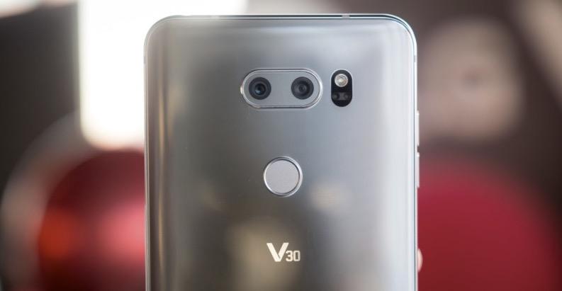 LG V30 fotocamera