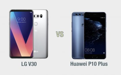 LG V30 vs Huawei P10 Plus: il confronto