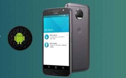 Smartphone Motorola in aggiornamento a Android 8 Oreo