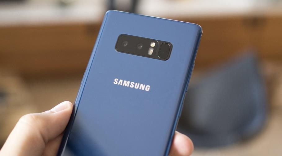 Note 8 Samsung fotocamera posteriore