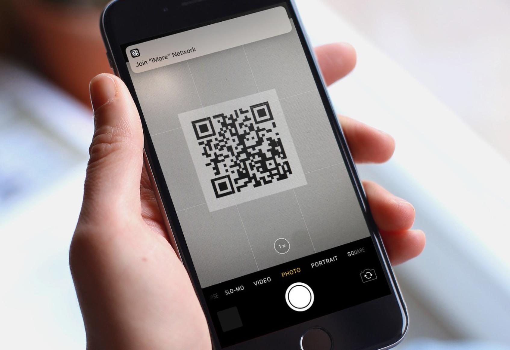 QR codice iOS 11