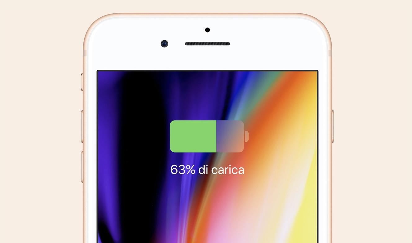 Ricarica rapida iPhone 8