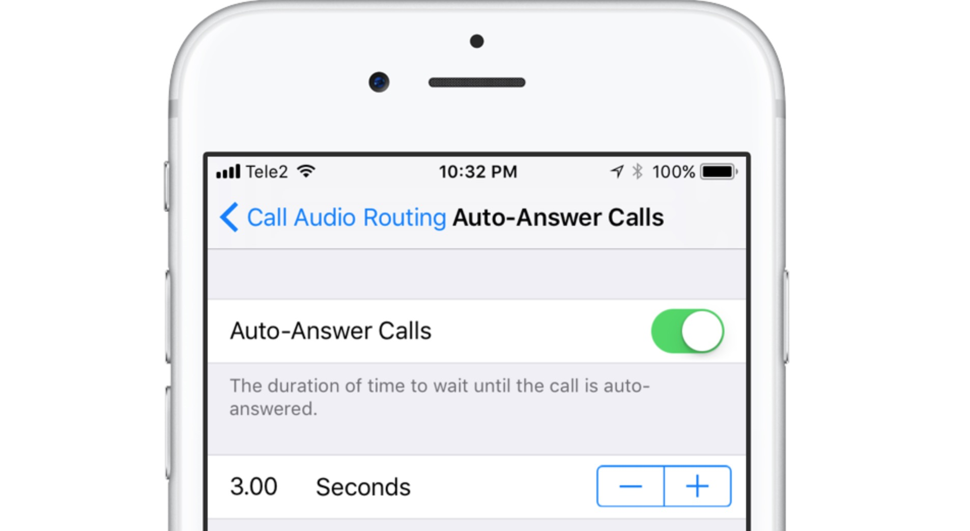 Risposta automatica iOS 11