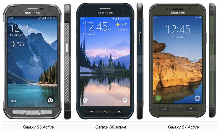Samsung Galaxy Active Series