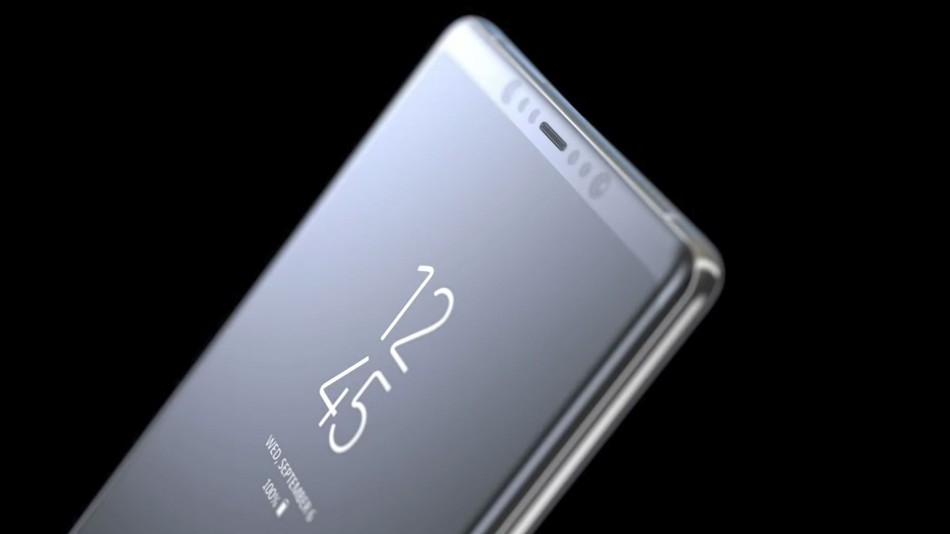 Samsung Galaxy Note 8 phablet batteria