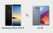 Samsung Galaxy Note 8 vs LG G6: il confronto