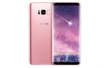 Samsung Galaxy S8 nel colore rosa esclusivo