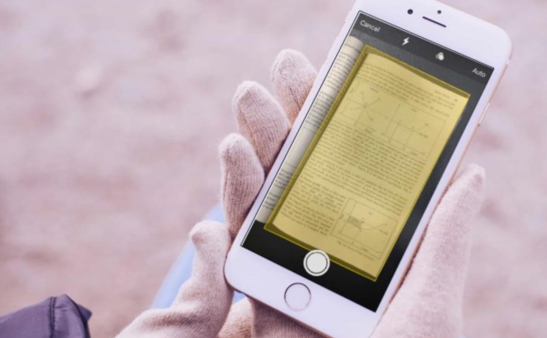 Scansione documenti Note iOS 11