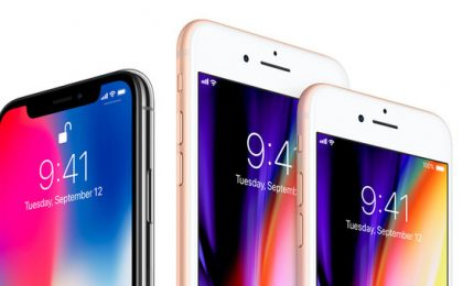 Lo schermo di iPhone X è più piccolo di iPhone 8 Plus