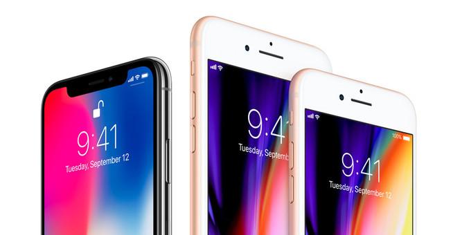 Lo schermo di iPhone X è più piccolo di iPhone 8 Plus