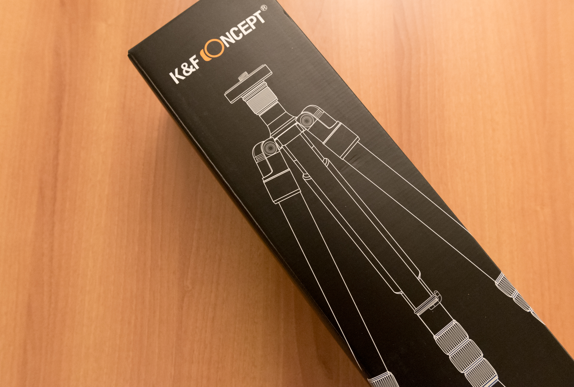 Treppiede K&F Concept KF TM2324 unboxing