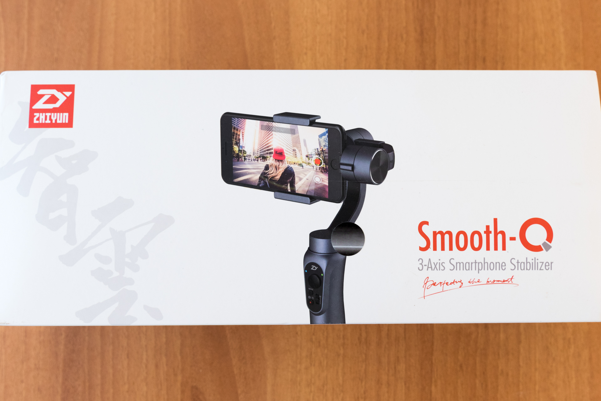 Unboxing Smooth Q Zhiyun